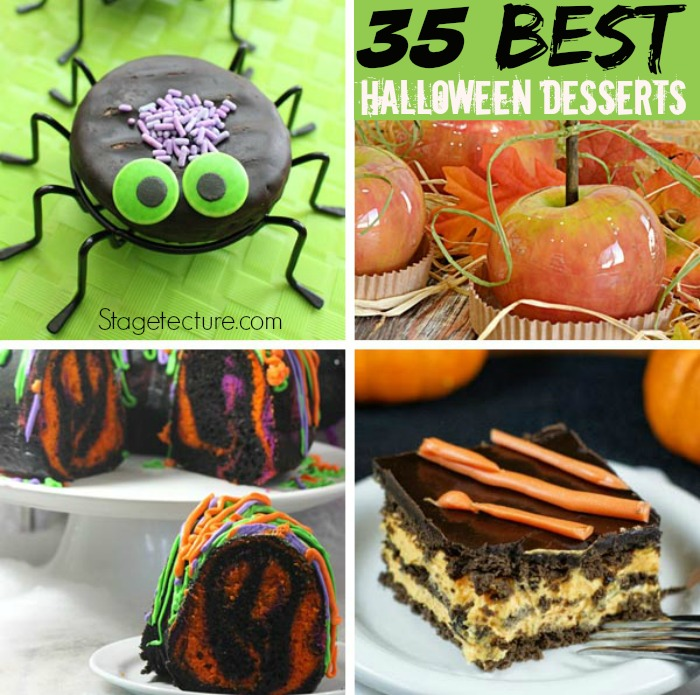 Our favorite halloween desserts recipes