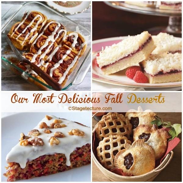 Recipe Round Up: 5 Delicious Fall Desserts