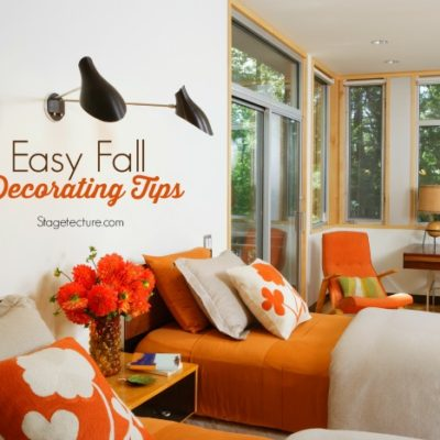Round Up Ideas: Easy Fall Decorating Tips