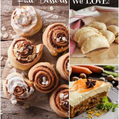 5 Delicious Fall Desserts We Love