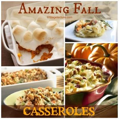 Recipe Round Up: 5 Amazing Fall Casseroles
