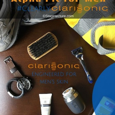 Clearer Skin: Men's Gym Essentials with #ClearlyClarisonic