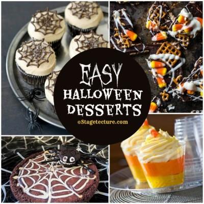 Recipe Round Up: 5 Easy Halloween Desserts