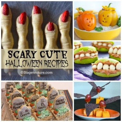 Recipe Round Up: 5 Scary Cute Halloween Recipes