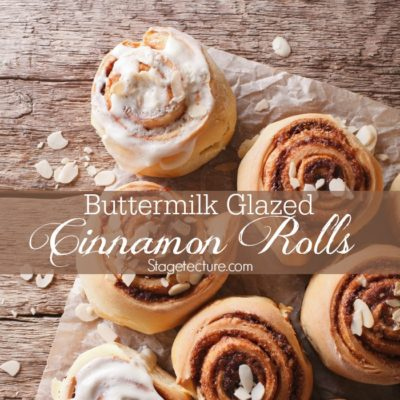 How to Make Buttermilk Glazed Cinnamon Rolls Recipe