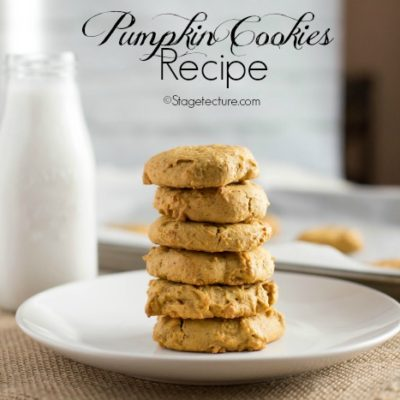 Easy Fall Dessert: Pumpkin Cookies Recipe