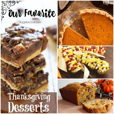 Recipe Round Up: Our Favorite Thanksgiving Desserts