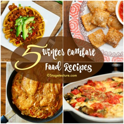 Dinner Round Up: 5 Winter Comfort Food Recipes