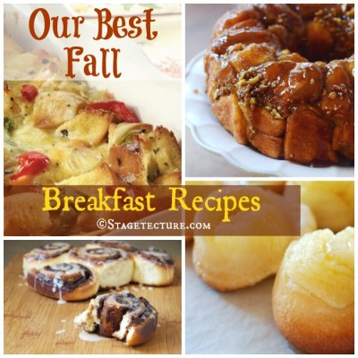 Recipe Round Up: Our Best Fall Breakfast Recipes