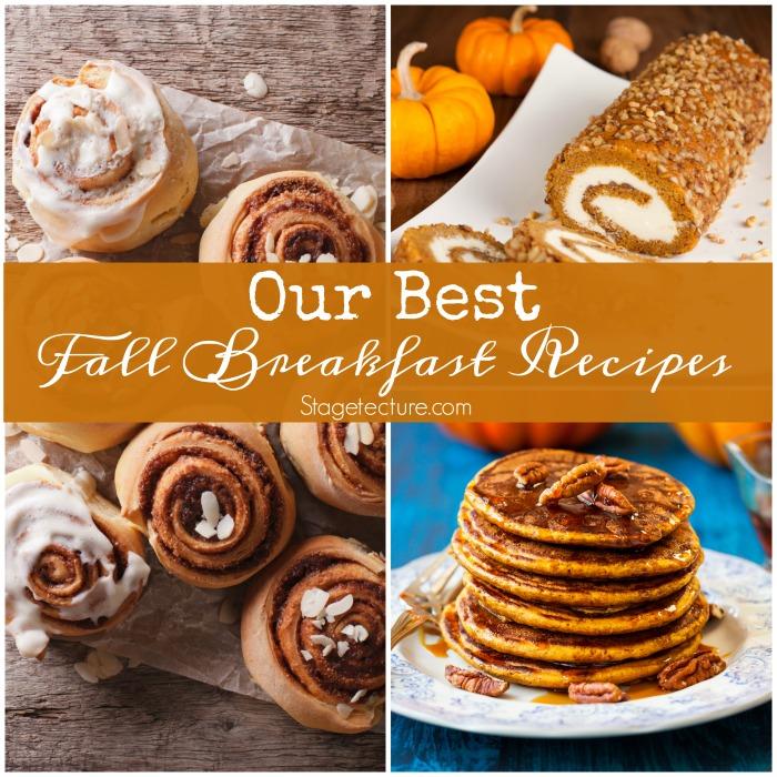 fall breakfast recipes ideas