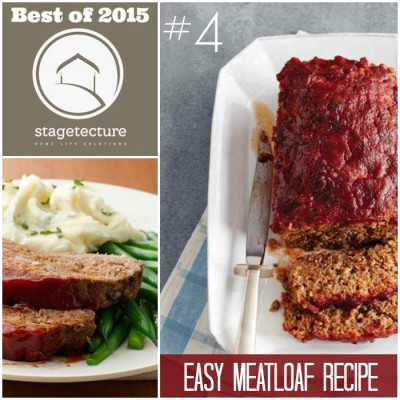 Best of 2015 – No 4 – Easy Meatloaf Recipe