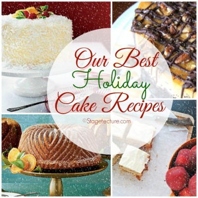 Dessert Round Up: Our Best Holiday Cake Recipes