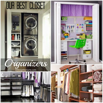 Our Best Closet Organizers: Storage Ideas Round Up
