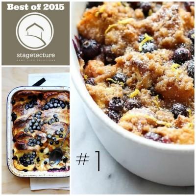 Best of 2015 – No 1 – Overnight Blueberry French Toast Casserole