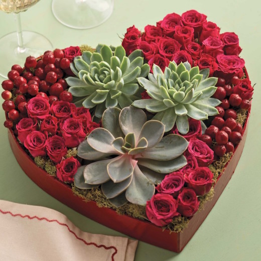 How to Create Valentines Day Flower Arrangements