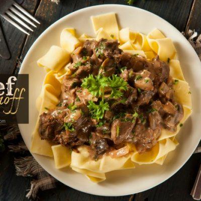 Slow Cooker Recipe: How to Make CrockPot Beef Stroganoff