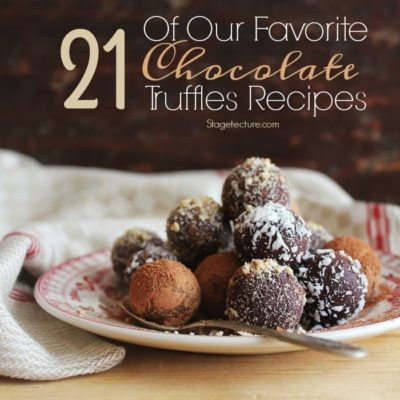 21 Of Our Favorite Chocolate Truffle Recipes