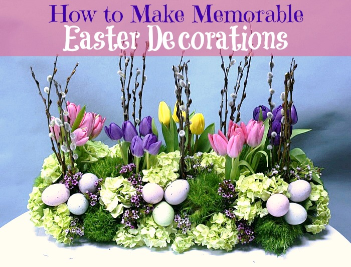 How to make memorable easter decorations for How to make easter decorations for the home