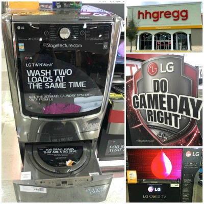 You've Cleaned your Home! Reward Yourself in the LG + hhgregg Sweepstakes