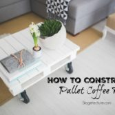 How to Construct a Pallet Furniture Table