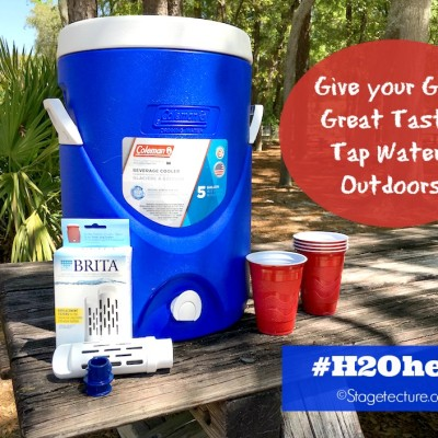 Creating Best Drinking Water for Kids with Brita #H20hero