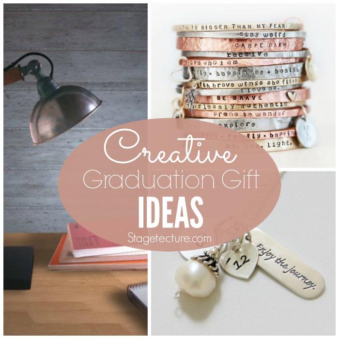Creative graduation presents