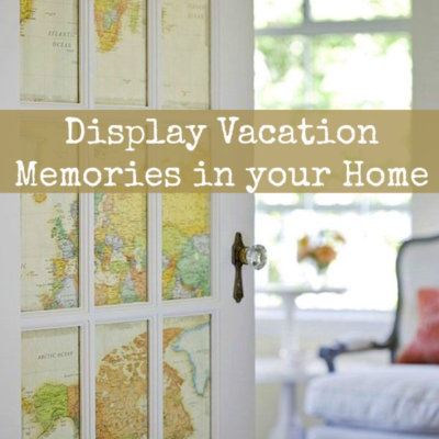 5 Ways to Display Vacation Mementos in your Home