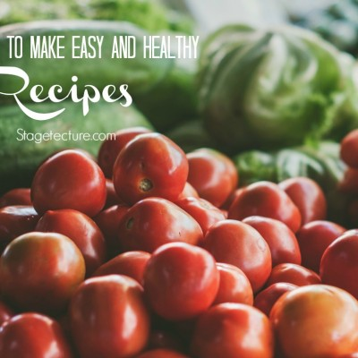 Spring Lunch: How to Make Easy Healthy Recipes