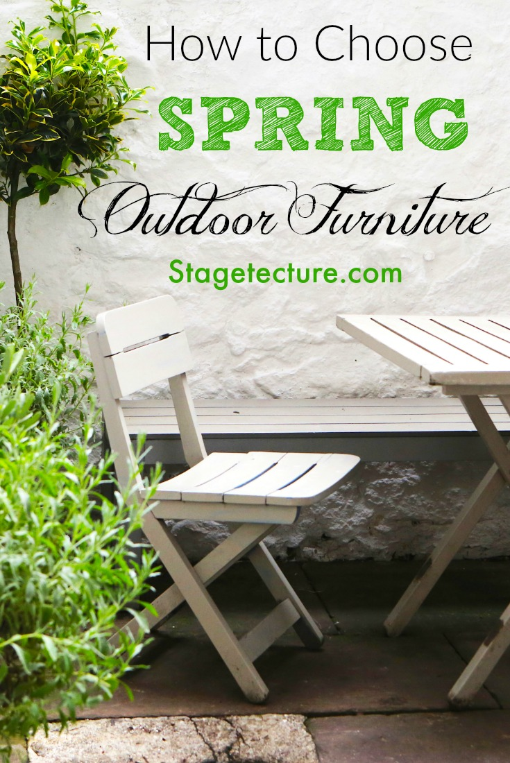 how to choose perfect spring outdoor patio furniture