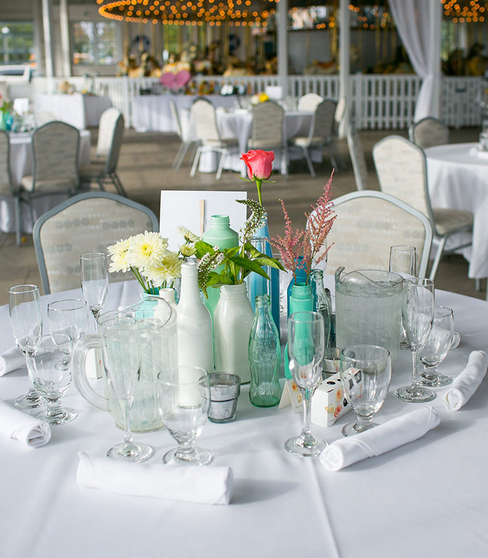 How to create romantic wedding reception centerpieces for Romantic wedding reception ideas