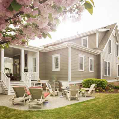Outdoor Spring Home Remodeling with #JamesHardieInspired