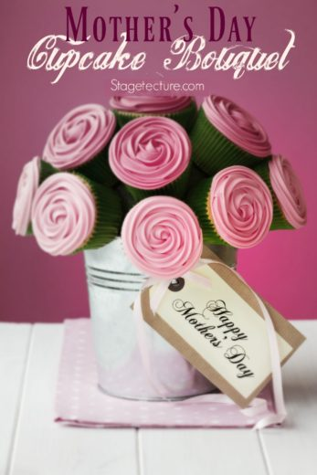 Mothers Day Ideas: DIY Cupcake Bouquet