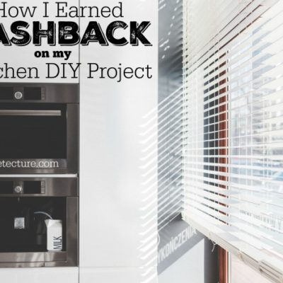 Giving Assistant: How My Weekend DIY Projects Earned Cashback