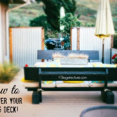 Deck Ideas: How To Makeover your Boring Patio Ideas