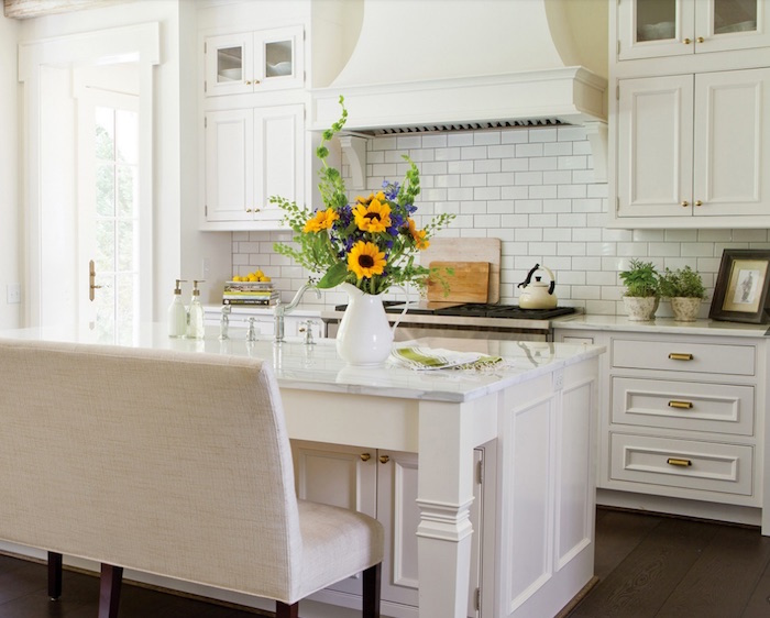 Welborn kitchen cabinets white
