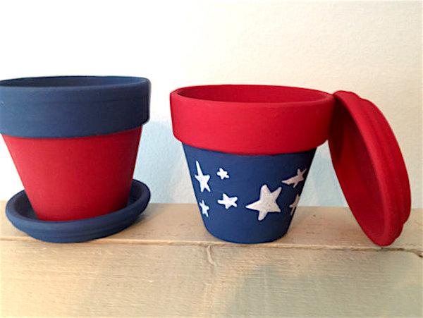 patriotic pots