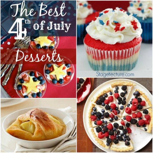.The Best 4th of July Desserts this Summer