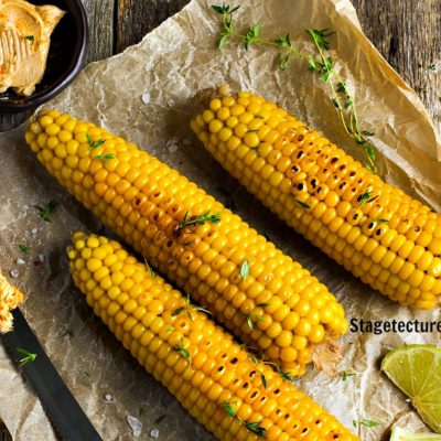 Grilled Corn on the Cob with Lime Recipe