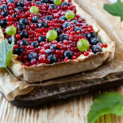 4th of July Dessert: Patriotic Berry Pie Recipe