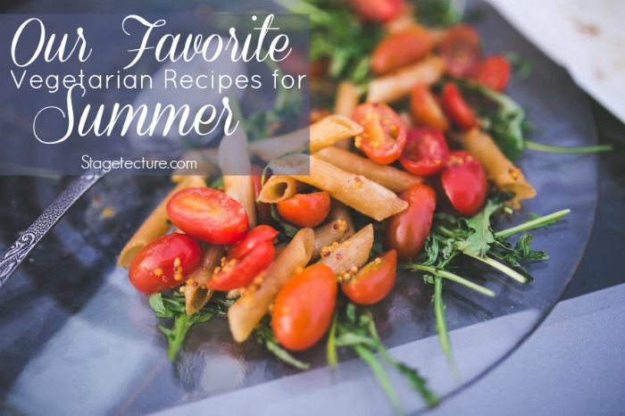 Our Favorite Vegetarian Recipes for Summer