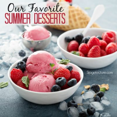 Our Best Desserts to Enjoy this Summer