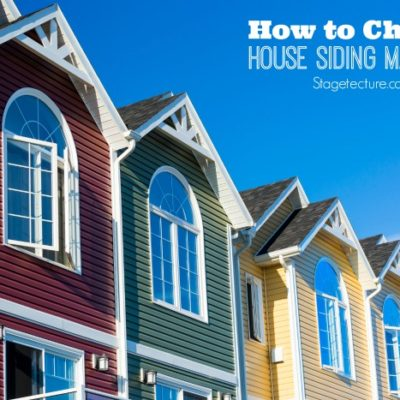 Top Tips for Choosing the Right House Siding Materials