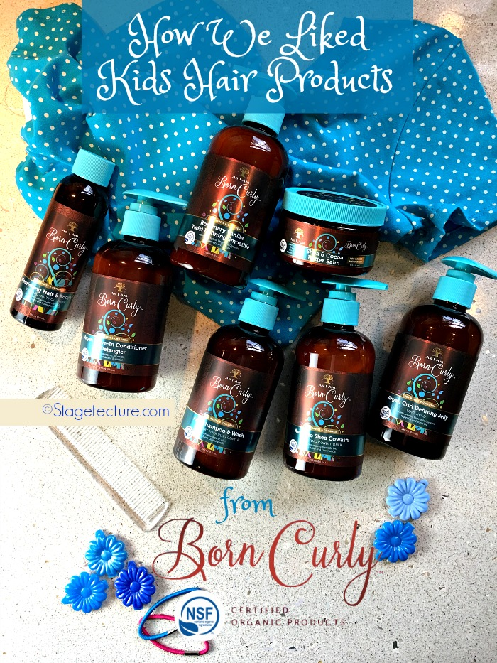 organic hair products born curly