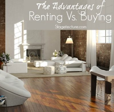 5 Advantages of Renting A Home Rather than Buying