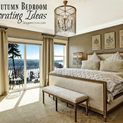 Easy Bedroom Decorating Tips for Autumn