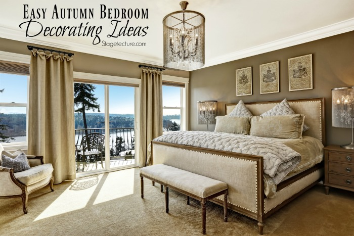 fall bedroom decorating tips