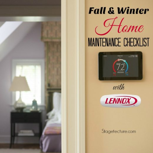 Fall and Winter Home Maintenance Checklist with Lennox®