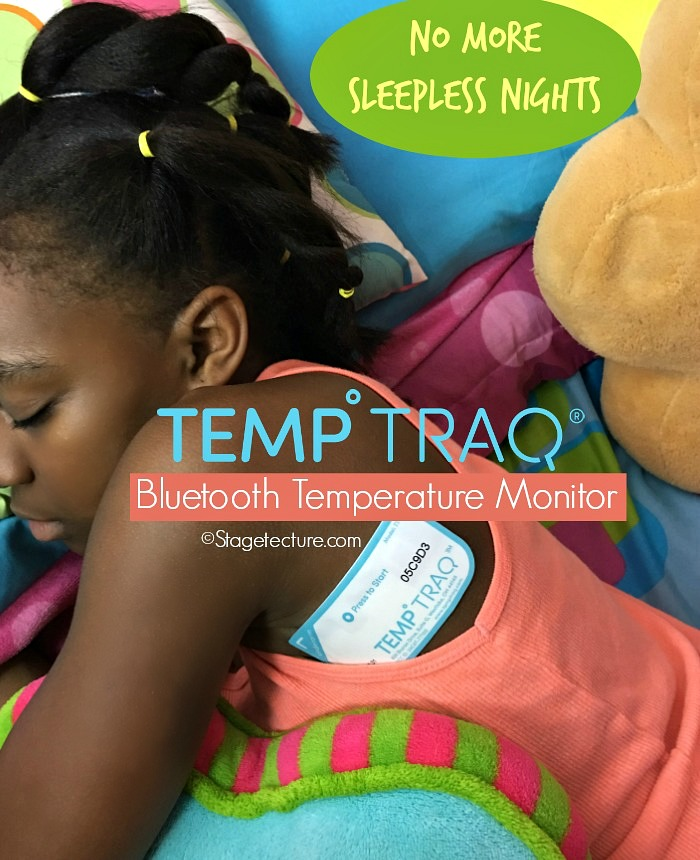 kids temp traq bluetooth thermometer monitor