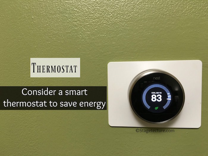 AHS _Thermostat home maintenance checklist