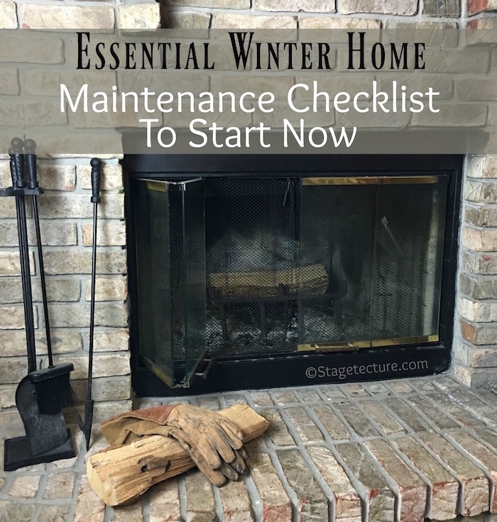 AHS winter home maintenance checklist
